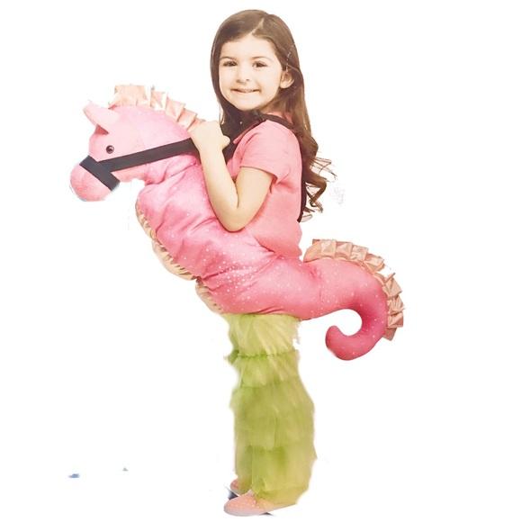 Child Pink Sea Horse Costume